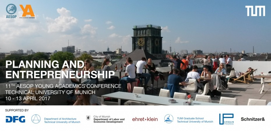 11th AESOP Young Academics Conference 2017: Planning and Entrepreneurship image