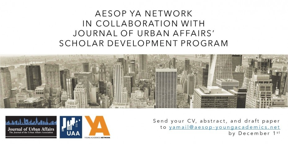 YA's collaboration with the Journal of Urban Affairs! image