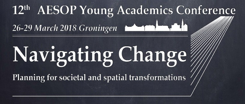 12th AESOP Young Academics Conference Groningen 2018: Navigating Change image
