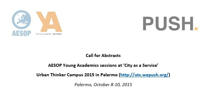 AESOP Young Academics sessions at the Urban Thinker Campus 2015, Palermo, October 08-10 image